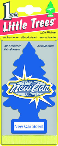 LITTLE TREES - CAR FRESHENER - NEW CAR 1-PACK - 24CT/BOX