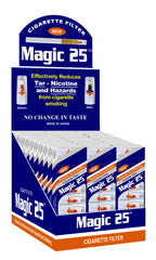 MAGIC 25 - CIGARETTE FILTER - 30CT/DISPLAY