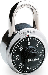 MASTER COMBINATION LOCK - 1500D - 6CT/BOX