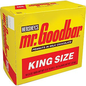MR. GOODBAR - KING SIZE - 18CT/BOX