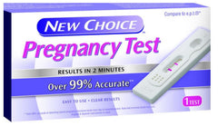 NEW CHOICE PREGNANCY TEST - 6CT/UNIT