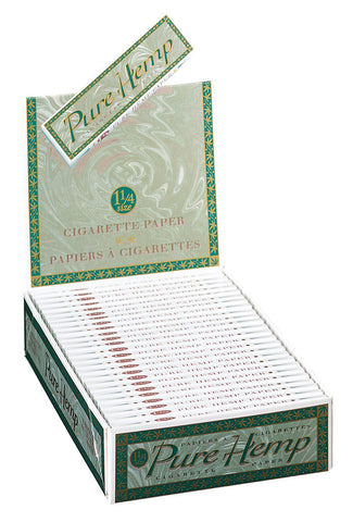 PURE HEMP - CIGARETTE PAPER 1.25 - 25CT/DISPLAY