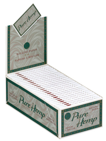 PURE HEMP - CIGARETTE PAPER 1.5 - 50CT/DISPLAY