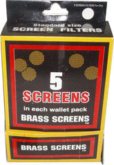 PIPE SCREEN - GOLD - 100CT/5PK/DISPLAY