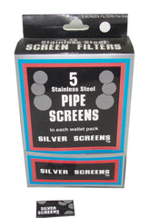 PIPE SCREEN - SILVER - 100CT/5PK/DISPLAY