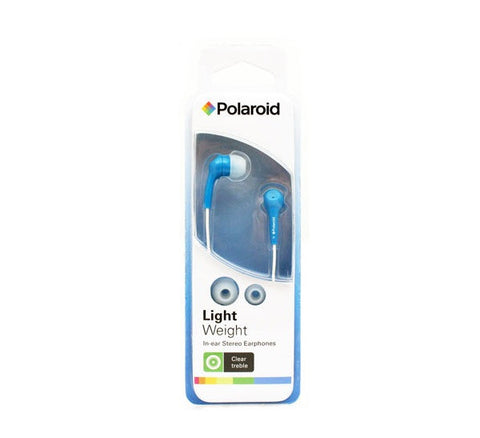 POLAROID - LIGHTWEIGHT HEADPHONES - PEP14 - BLUE