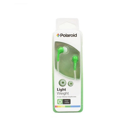 POLAROID - LIGHTWEIGHT HEADPHONES - PEP14 - GREEN