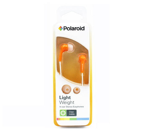 POLAROID - LIGHTWEIGHT HEADPHONES - PEP14 - ORANGE
