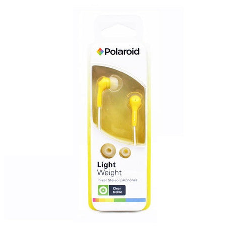 POLAROID - LIGHTWEIGHT HEADPHONES - PEP14 - YELLOW