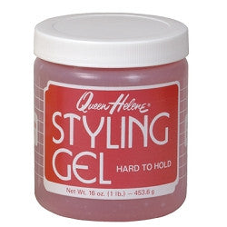 QUEEN HELENE - HARD TO HOLD (PINK) GEL 20OZ  - 6CT/UNIT