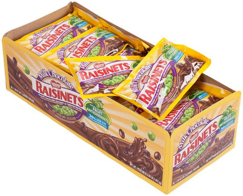 RAISINETS MILK CHOCOLATE - 36CT/BOX
