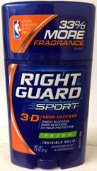RIGHT GUARD - FRESH DEODORANT 2.25OZ - 6CT/UNIT
