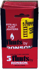RONSON - FLINT 5 - 12CT/DISPLAY