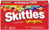 SKITTLES - ORIGINAL - 36CT/BOX