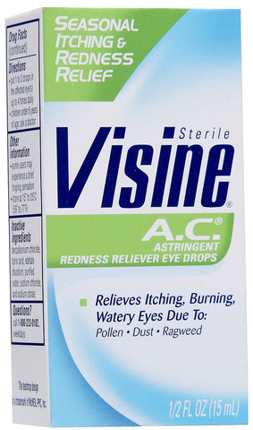VISINE - AC 0.5OZ - 6CT/UNIT