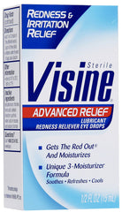 VISINE - ADVANCE RELIEF 0.5OZ - 6CT/UNIT