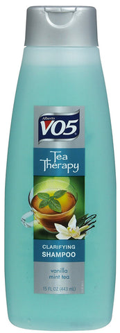 VO5 - TEA THERAPY VANILLA MINT SHAMPOO 11OZ - 6CT/UNIT