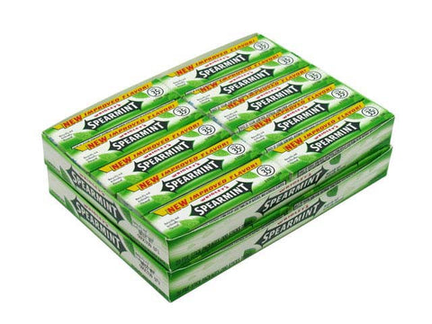 WRIGLEY'S SPEARMINT GUM - 40CT/BOX