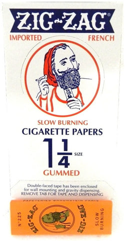 ZIG ZAG - ORANGE CIGARETTE PAPER - 24CT/DISPLAY