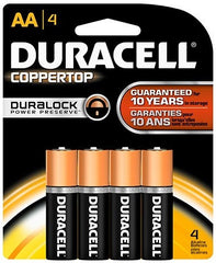 DURACELL - AA-4  - COPPERTOP USA