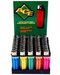 ACE - DISPOSABLE LIGHTERS - 50PC/BOX