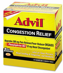 ADVIL CONGESTION RELIEF - 50CT/1PK/BOX