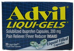 ADVIL - LIQUI-GELS 20'S - 6CT/UNIT