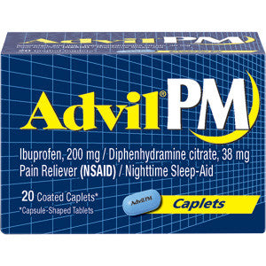 ADVIL - PM CAPLETS 20'S - 6CT/UNIT