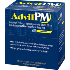 ADVIL PM - 50CT/2PK/BOX