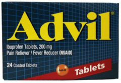 ADVIL - TABLETS 24'S - 6CT/UNIT