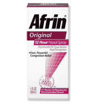 AFRIN - PUMP MIST NASAL SPRAY 0.5OZ (15ML) - 6CT/UNIT