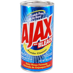AJAX - W/BLEACH POWDER CLEANSER 14OZ - 24CT/CASE