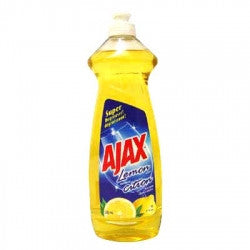 AJAX - LEMON DISH WASHING LIQUID 14OZ - 24CT/CASE