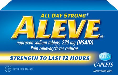 ALEVE - CAPLETS 24'S - 6CT/UNIT