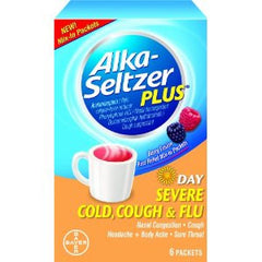 ALKA SELTZER PLUS POWDER 12/6CT - DAY TIME