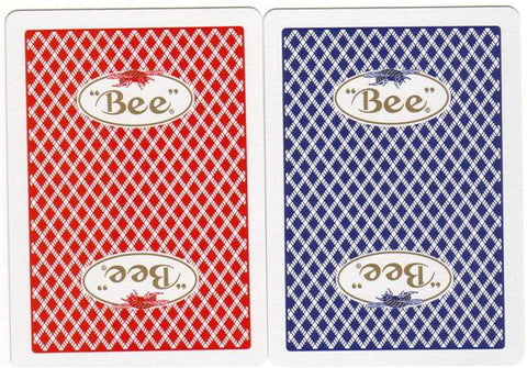 BEE CASINO PLAYING CARDS - 12CT/BOX