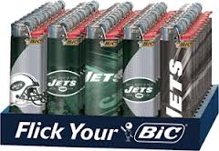 BIC - JETS LIGHTERS - 50PC/BOX