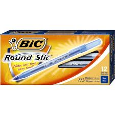 BIC - PENS (BLUE) - 12PC/BOX