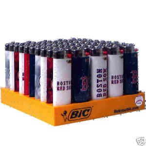 BIC - RED SOX LIGHTERS - 50PC/BOX