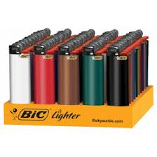 BIC - REGULAR LIGHTERS - 50PC/BOX