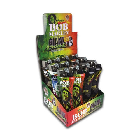 BOB MARLEY - GIANT LIGHTERS - 12PC/BOX