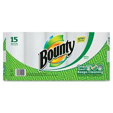 BOUNTY - PAPER TOWELS - 15CT/CASE