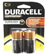 DURACELL - C-2 - COPPERTOP USA