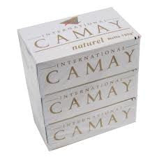 CAMAY - WHITE SOAP 125G - 12CT/PACK