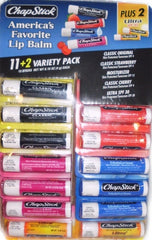CHAPSTICK - 11+2 ASSORTED - 13CT/CARD