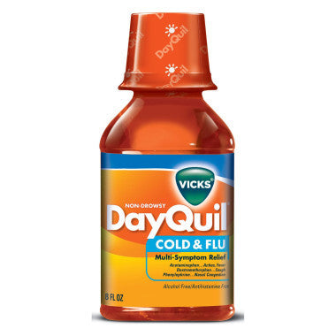 DAYQUIL - LIQUID 8OZ - 6CT/UNIT