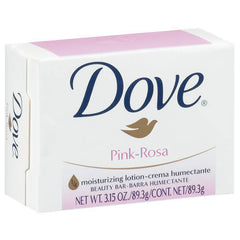 DOVE 135G - CREAM BAR PINK SOAP - 48ct