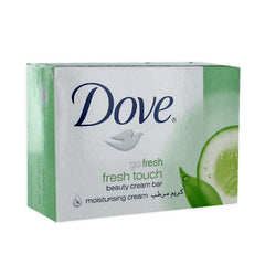 DOVE 135G - FRESH TOUCH GREEN SOAP - 48ct