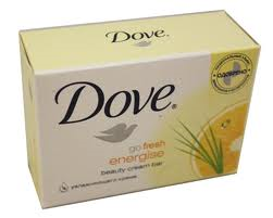 DOVE 135G - FRESH ENERGISE YELLOW SOAP - 48ct