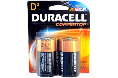 DURACELL - D-2 COPPERTOP USA